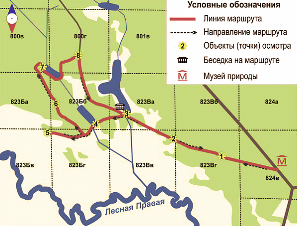The route plan